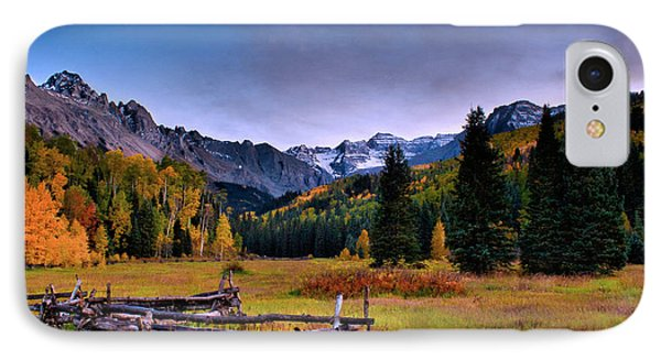 Valley Of Mt Sneffels IPhone Case by Steven Reed