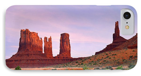 Valley Of The Gods - A Oasis For The Soul Phone Case by Christine Till