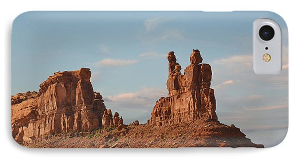 Valley Of The Gods - Escape From Civilization Phone Case by Christine Till