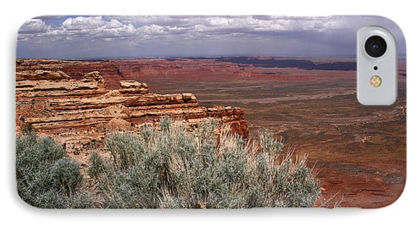 Valley Of The Gods View-moki Dugway IPhone Case by Butch Lombardi