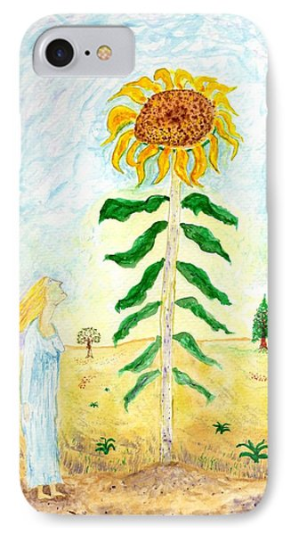 Valley Of The Mammoth Sunflowers IPhone Case