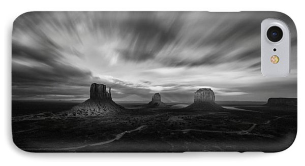 Valley Of Time IPhone Case by Tassanee Angiolillo