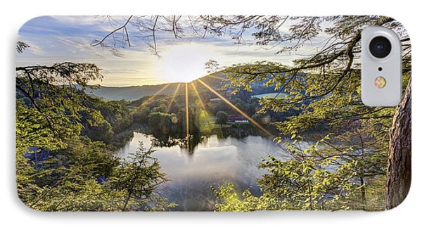 Valley Sunrise IPhone Case by Bill Wakeley