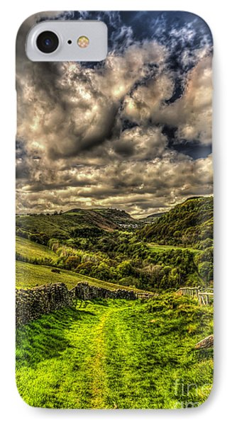 Valley View IPhone Case by Steve Purnell