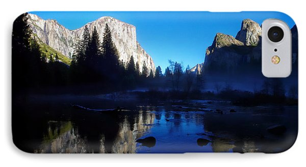 Valley View Yosemite National Park Waterscape IPhone Case