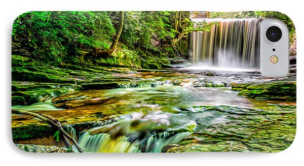 Valley Waterfall  IPhone Case