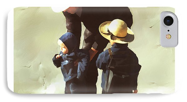 IPhone Case featuring the painting Value Your Children by Bob Salo