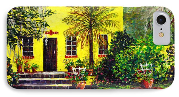 IPhone Case featuring the painting Vamo Road House by Lou Ann Bagnall