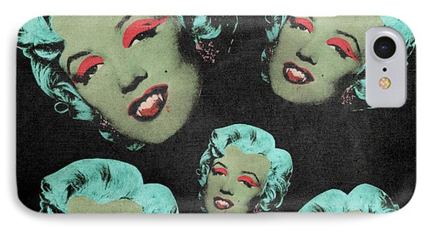 Vampire Marilyn 5a Phone Case by Filippo B