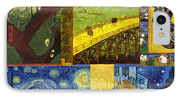 Van Gogh Collage Phone Case by Philip Ralley
