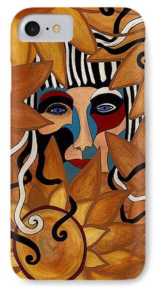 Van Gogh Meets Picasso IPhone Case by Barbara St Jean