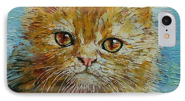 Van Gogh The Kitten IPhone Case