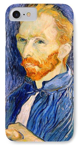 Van Gogh On Van Gogh IPhone Case by Cora Wandel