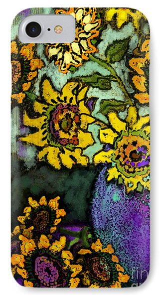 Van Gogh Sunflowers Cover IPhone Case by Carol Jacobs