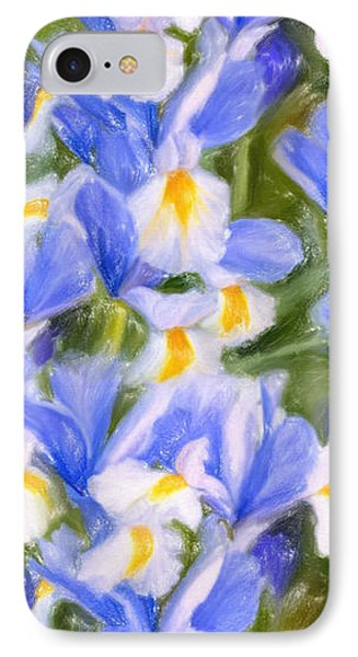 Van Gogh's Iris Phone Case by Angela A Stanton