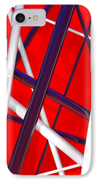 Van Halen 3d Iphone Cover IPhone 7 Case by Andi Blair