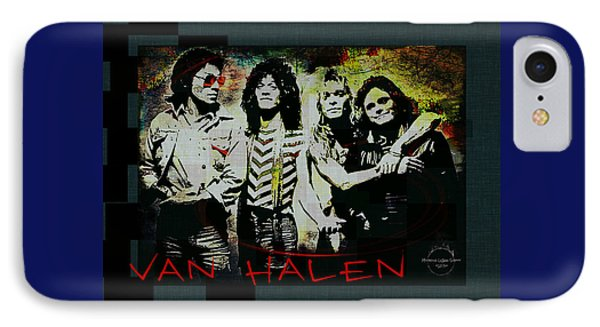 Van Halen - Ain't Talkin' 'bout Love IPhone Case by Absinthe Art By Michelle LeAnn Scott