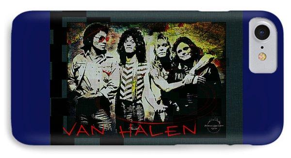 Van Halen iPhone 7 Case - Van Halen - Ain't Talkin' 'bout Love by Absinthe Art By Michelle LeAnn Scott