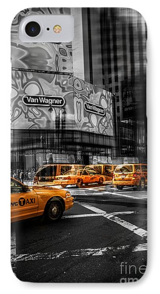 Van Wagner - Colorkey Phone Case by Hannes Cmarits
