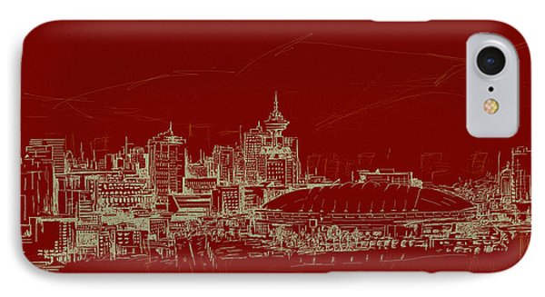 Vancouver Art 007 Phone Case by Catf
