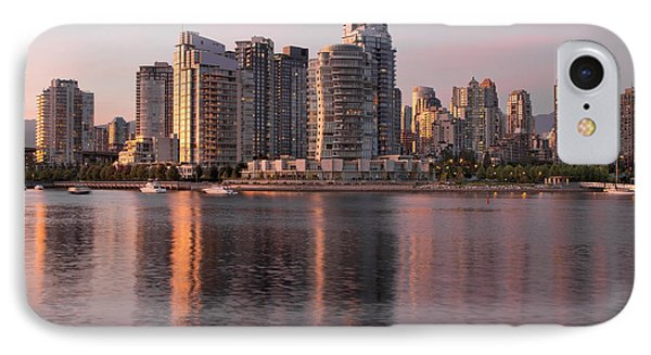 IPhone Case featuring the photograph Vancouver Bc Waterfront Condominiums by JPLDesigns