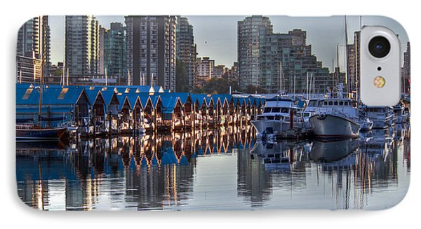 Vancouver Boat Reflections Phone Case by Eti Reid