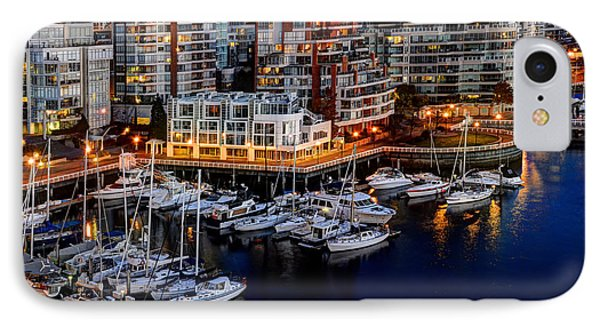 Vancouver British Columbia 10 Phone Case by Bob Christopher