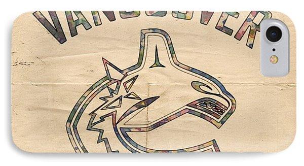 Vancouver Canucks Logo Art IPhone Case
