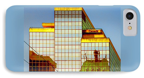 Vancouver Reflections No 2 Phone Case by Ben and Raisa Gertsberg