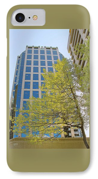 Vancouver Silhouettes No 1 Phone Case by Ben and Raisa Gertsberg