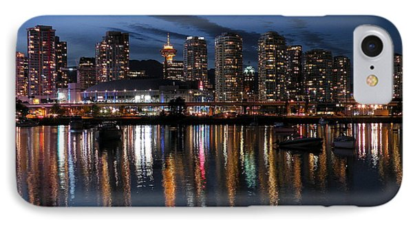 Vancouver Skyline IPhone Case by Brian Chase