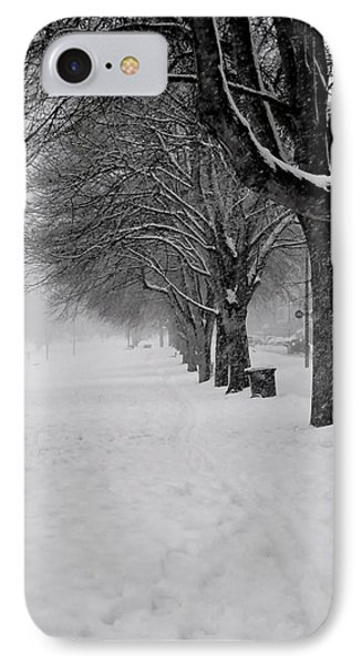 Vancouver Winter Trees IPhone Case