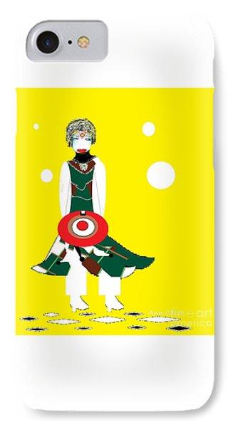 Vanguard Girl IPhone Case