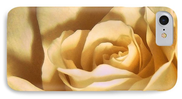 IPhone Case featuring the photograph Vanilla Rose  by Janine Riley