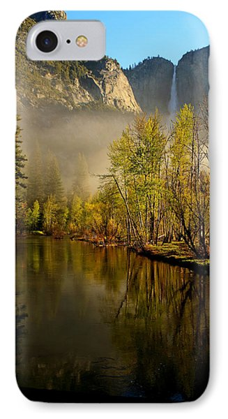 IPhone Case featuring the photograph Vanishing Mist by Duncan Selby