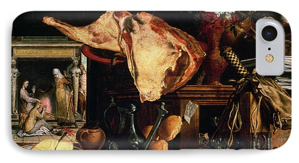 Vanitas Still Life Phone Case by Pieter Aertsen