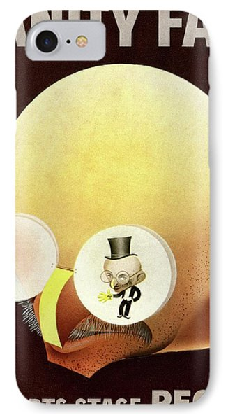 Vanity Fair Cover Featuring A Caricature IPhone Case by Paolo Garretto