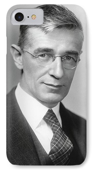 Vannevar Bush IPhone Case by Emilio Segre Visual Archives/american Institute Of Physics