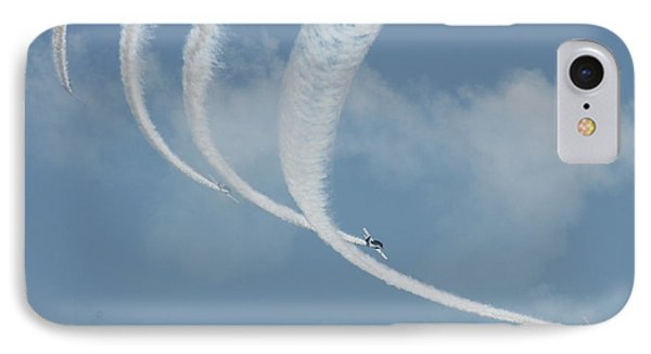 Vapor Trails In The Empty Air IPhone Case by Mustafa Abdullah