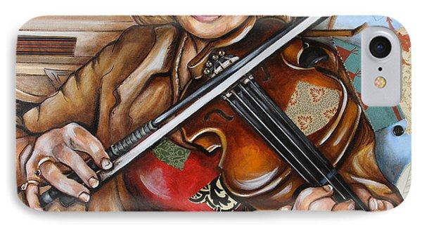 Vaquera De The Fiddle IPhone Case