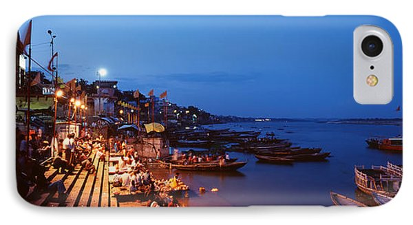 Varanasi, India IPhone Case by Panoramic Images