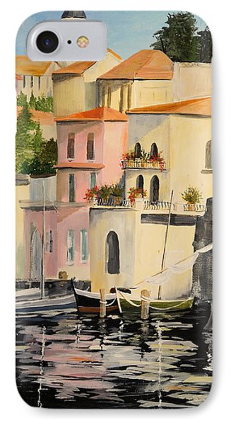 IPhone Case featuring the painting Varenna by Alan Lakin