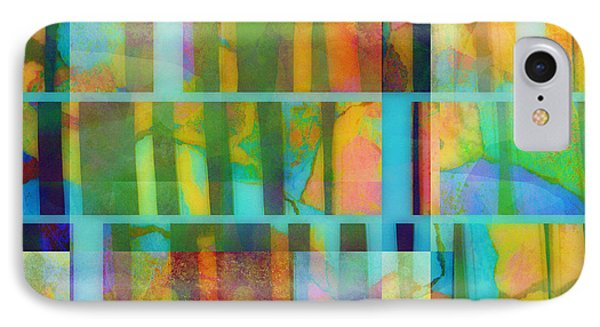 Variation On A Theme Abstract Art IPhone Case by Ann Powell