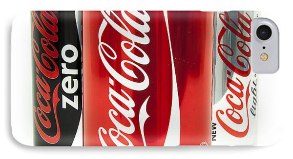 Various Coke Cola Cans IPhone Case by Antony McAulay