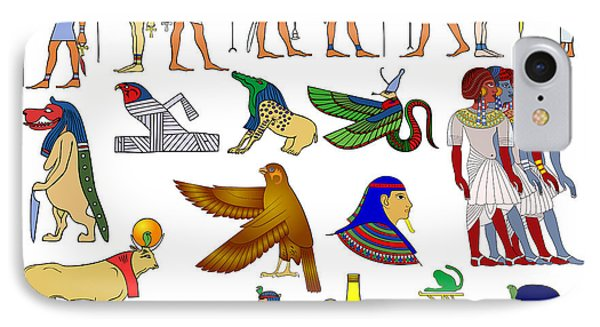 Various Themes Of Ancient Egypt IPhone Case