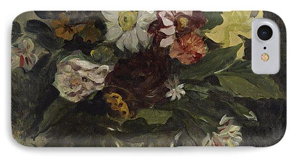 Vase Of Flowers, 1833 IPhone Case