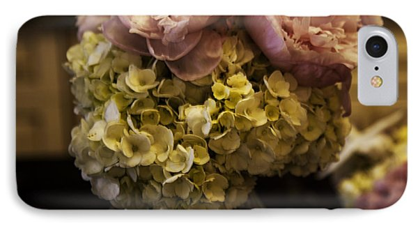 Vase Of Flowers IPhone Case by Madeline Ellis