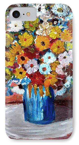 Vase Of Spring Phone Case by Mauro Beniamino Muggianu