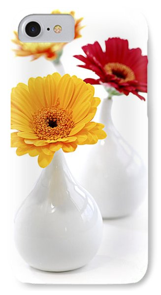 Vases With Gerbera Flowers IPhone Case