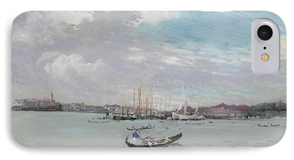 Vast Lagoon Outside Venice Circa 1901 Phone Case by Aged Pixel